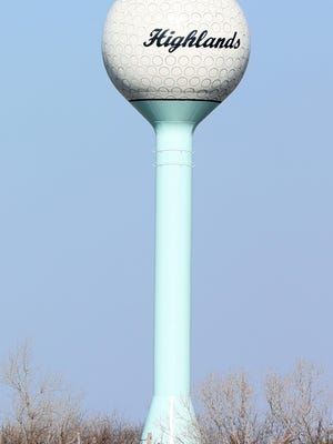 The County Commission on Tuesday approved IdeaTek installing equipment on The Highlands water tower to provide internet service to homes around, but outside of the small town.