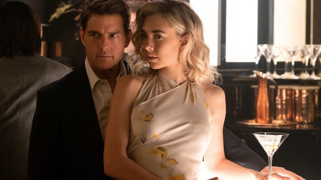 "Tom Cruise and Vanessa Kirby star in ""Mission: Impossible - Fallout."""