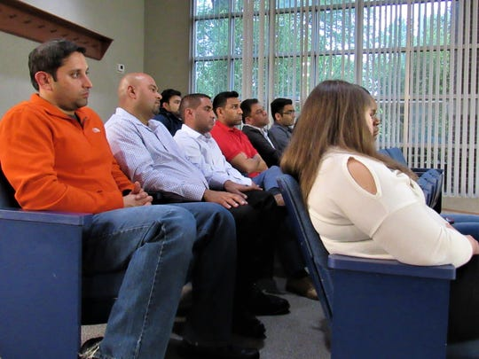 Attendees included representatives of the nine Farragut