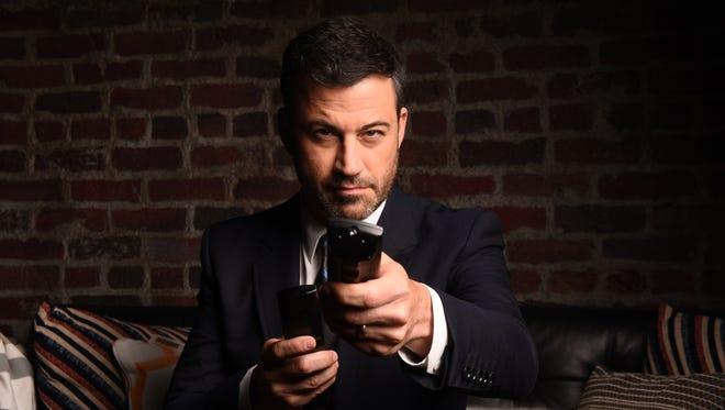 "Jimmy Kimmel challenged Tim Kaine to a ""harmonica battle."""