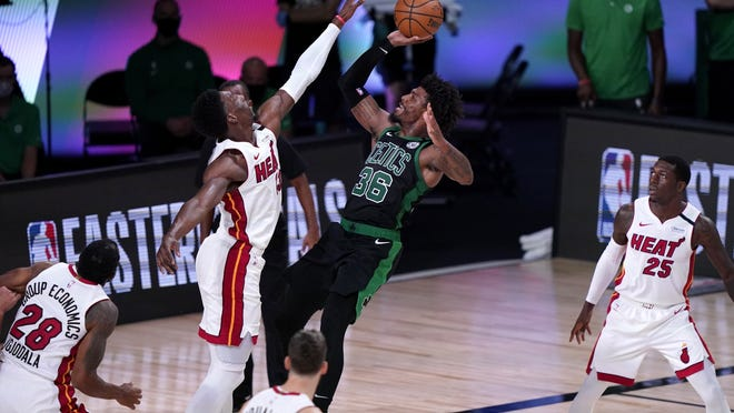 With LeBron James and Kawhi Leonard moving out West, but Celtics and Marcus Smart had a great opportunity to advance to the NBA Finals this season, but couldn't take advantage.