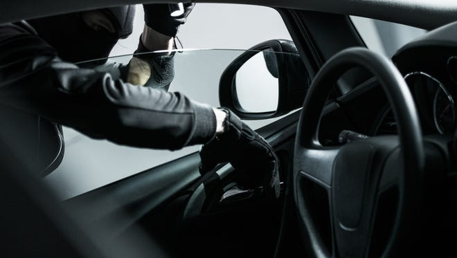 Car jacking - car thief