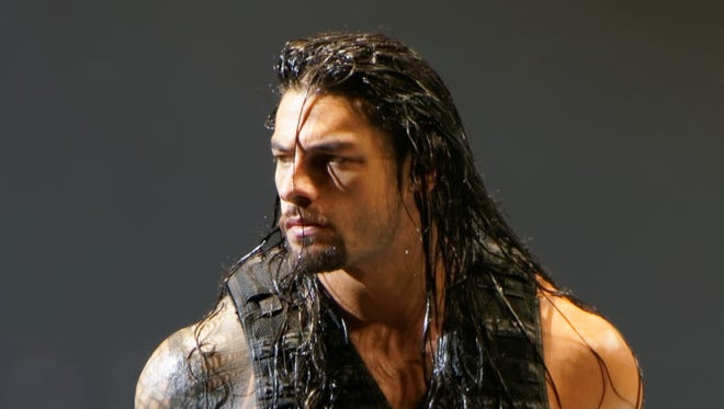 WWE superstar Roman Reigns is scheduled to appear in Des Moines on May 10.