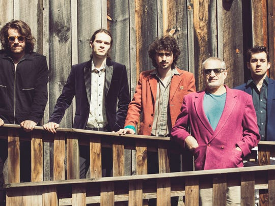 Donald Fagen and The Nightflyers, from left, Connor Kennedy, Will Bryant, Lee Falco, Donald Fagen and Brandon Morrison.