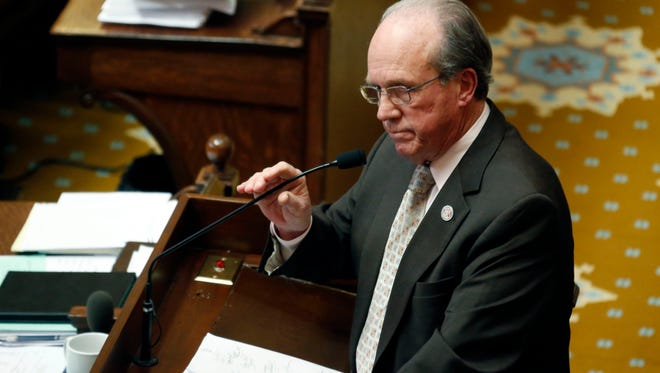 House Accountability, Efficiency and Transparency Committee Chairman Jerry Turner, R-Baldwyn, is shown in this 2013 file photo.