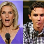 Readers on David Hogg, Laura Ingraham: Americans are sick and tired of bullies