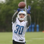 'Cerebral' Lions rookies Tabor, Agnew add healthy competition at CB