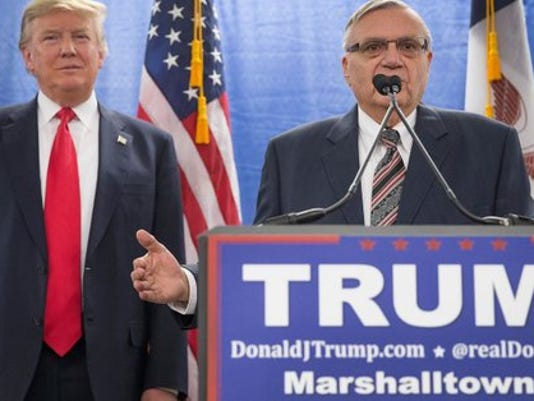 Joe Arpaio's criminal conviction dismissed