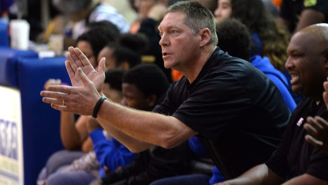 Parkway head coach Mike Guess will conduct a 32-team scrimmage Saturday at his school.