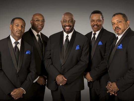 The current Temptations lineup will perform in San