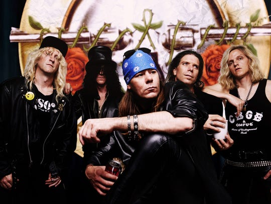 Guns N' Roses tribute band Guns 4 Roses will play at