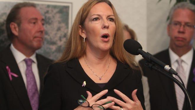 A file photo of DA Sandra Doorley.