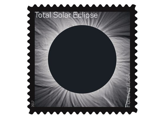 New Usps Eclipse Forever Stamp Morphs When You Touch It - United-states-forever-stamps