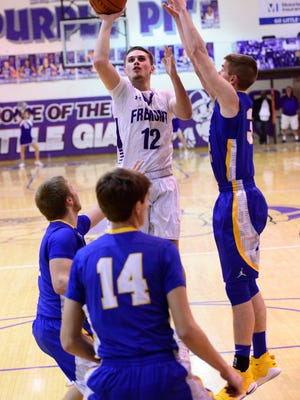 Bryce Root of Fremont Ross scored 16 points in a win Saturday over Clyde.