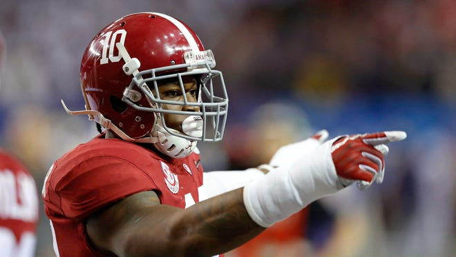 Could Alabama Crimson Tide linebacker Reuben Foster be the Cardinals' selection at No. 13 in the NFL draft?