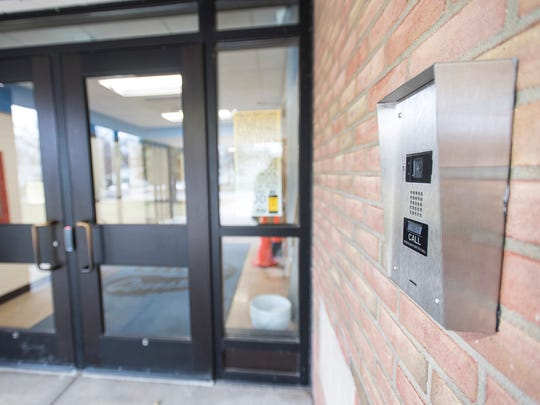 To enter Crull Elementary School, guests must use a buzzer to be allowed into the front office of the school. One of the main features of an update schools are receiving as the result of a 2016 bond is the addition of a camera and buzzer system,t wo layers of locked doors and the relocation of school offices to the front entrance.