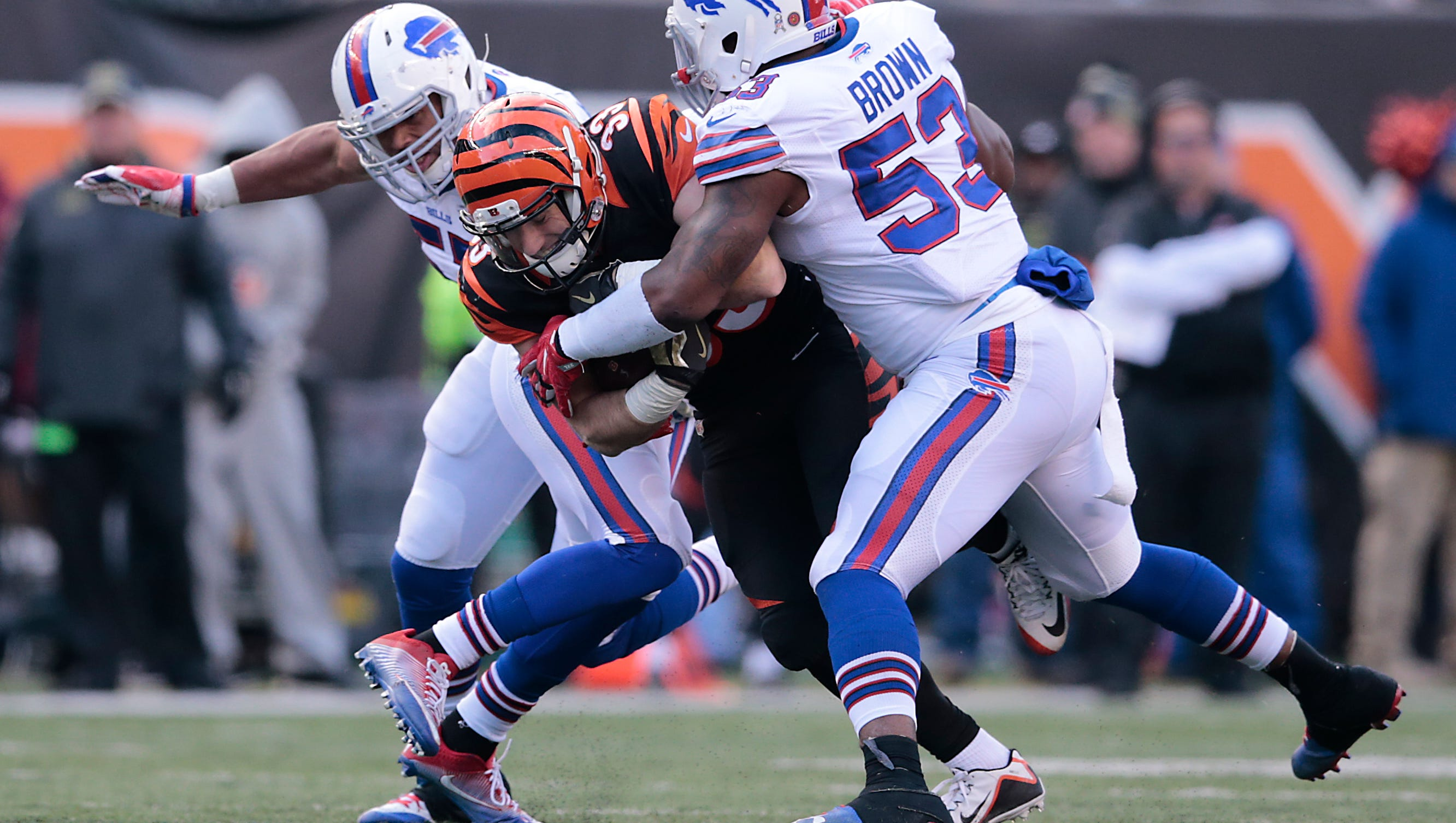 Bengals' Rex Burkhead running with opportunity