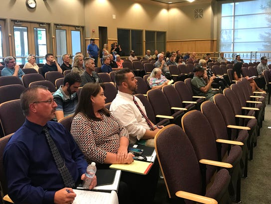 Twenty-two people spoke to the Shasta County Board
