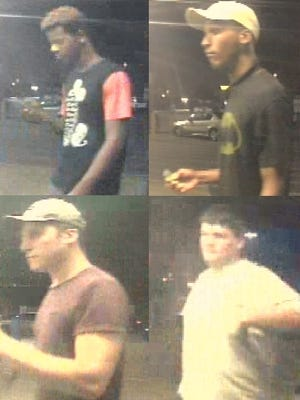 Suspects in the Sept. 1 vehicle burglary