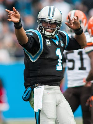 Carolina's Cam Newton is joining the $20 million-a-year quarterback club.