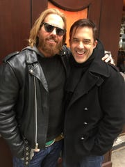 Catching up Former Tri-Staters Bruce Wayne and Benjamin Bradley met us for lunch and catching up on family and friends. This couple made their way to the Big Apple over 20 years ago and enjoy successful careers in celebrity makeup artistry and interior design.