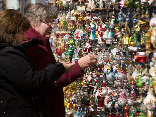 Ornament shopping