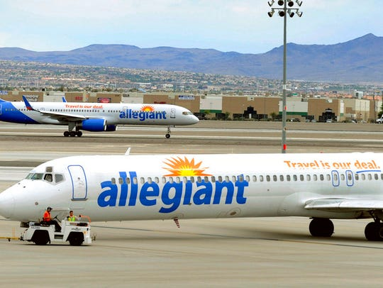 Allegiant is celebrating five years flying out of the Cincinnati/Northern Kentucky International Airport.