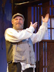 "Douglas E. Stark stars as Tevye in Beef & Boards' production of ""Fiddler on the Roof."""