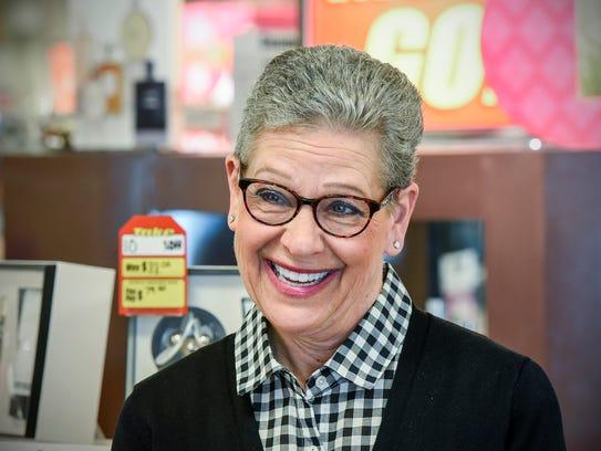 Longtime Herberger's employees Debbie Lorette reminisces