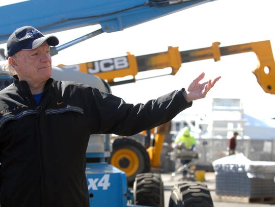 Tim McLoone, owner of The Rum Runner, is shown at the