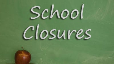 St. Landry Parish and Evangeline Parish Public Schools are closed tomorrow due to inclement weather.