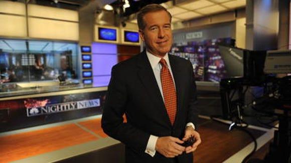 Brian Williams of NBC