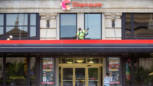 Chemours' headquarters in downtown Wilmington. The company will announce its third quarter earnings in November.