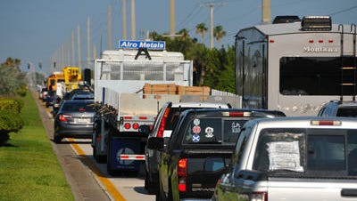 Traffic officers are investigating a crash at SR 3 and the Pineda Causeway