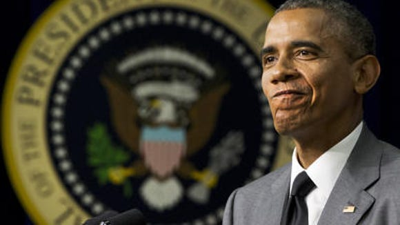 President Obama is no longer satisfied with mocking his Republican opponents and distorting their motives. Now he's baiting them into impeaching him