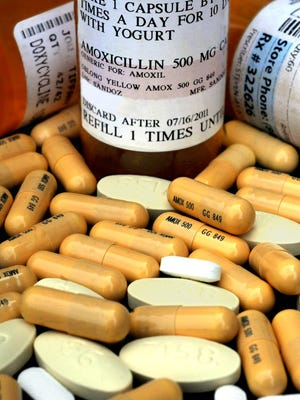 Doctors have new protections if they prescribe a longer course of antibiotic treatment for Lyme disease, under a law signed by Gov. Andrew Cuomo last year. Amoxicillin is among the antibiotics used in treatment. Patients are receiving longer courses of antibiotics for Lyme disease than guidelines recommend, a survey finds. A variety of antibiotics are prescribed, depending on the patient's response and illness.
