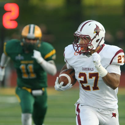 St. John Fisher's James Chambers is one of two sophomore