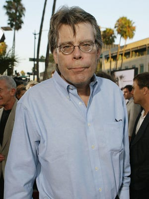 """Author Stephen King attends the premiere of """"The Manchurian Candidate"""" on July 22, 2004 at the Samuel Goldwyn Theatre, in Los Angeles, California."""