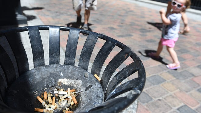 Fort Collins officials plan to continue focusing on outreach and education to inform people about the downtown smoke-free zone.