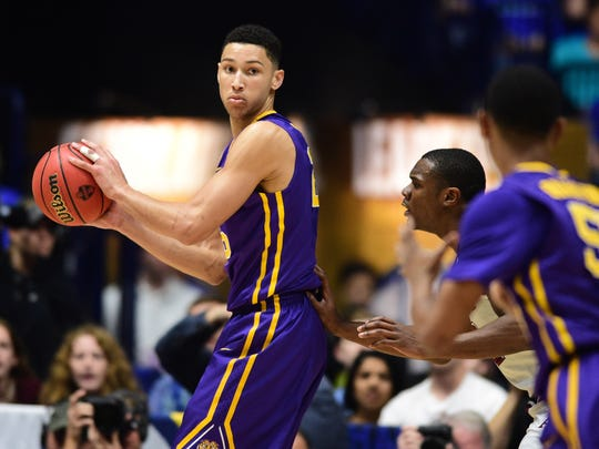 Like Markelle Fultz, Ben Simmons failed to make the NCAA Tournament in his lone season in college at LSU. The two will likely become teammates on Thursday with the Philadelphia 76ers.