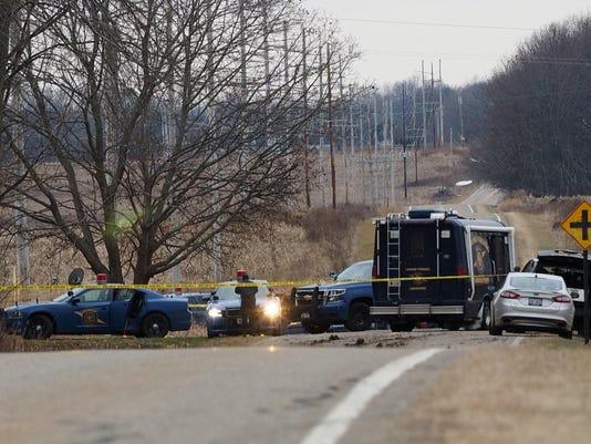 Officers Shot-Michigan