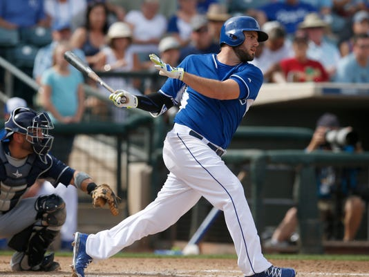 MLB: San Diego Padres at Kansas City Royals