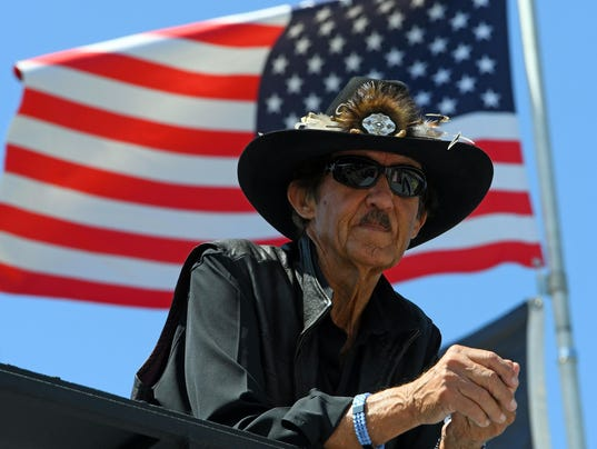 6-29-2017 richard petty flag