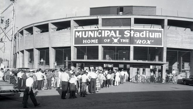 St. Cloud's Municipal Stadium at 25th Avenue and Division Street.