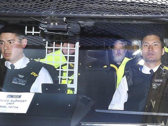 Britain Wikileaks Assange Arrested