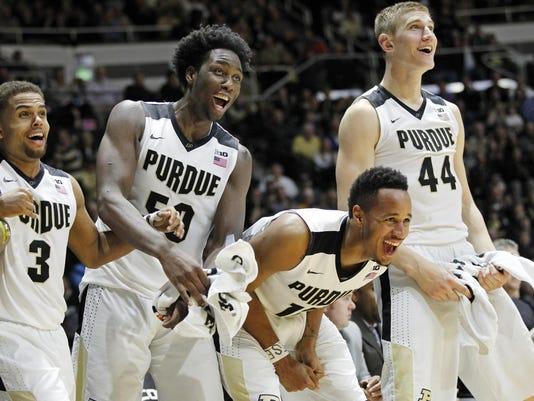 LAF Purdue men's basketball gamer Howard