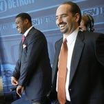 Fox Sports Detroit broadcasters Rod Allen, left, and Mario Impemba.