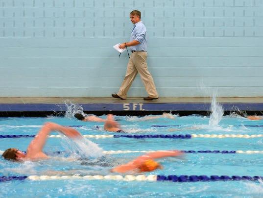 Swimming Bison Rustlers Keep In Shape Via 100 100s