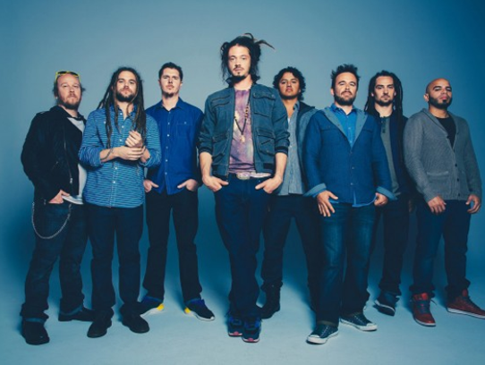 Reggae act SOJA (Soldiers of Jah's Army), pictured,