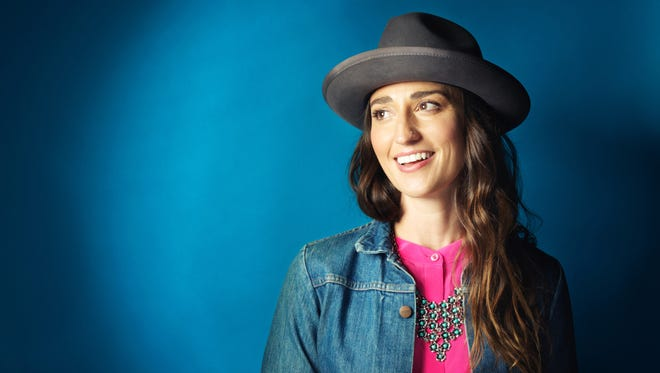 """Sara Bareilles, whose hit songs include """"Love Song"""" and """"Brave,"""" changed gears to write music for the musical """"Waitress."""" And she's happy she did."""